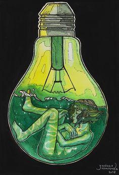 Зелёная лампочка