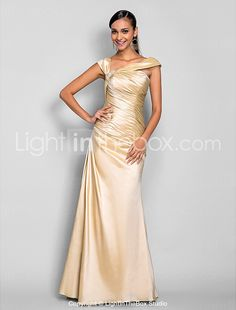 TS Couture® Prom / Formal Evening / Military Ball Dress - Elegant Apple / Hourglass / Inverted Triangle / Pear / Plus Size / Petite / MissesTrumpet / 605470 2017 – $119.99