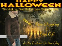 #TheWalkingDead #RickGrimes Suede #leatherjacket is created by Jacky Fashion at #onlinestore #halloween discounted offer only $129.00  free shipping worldwide,  #menswear #mensfashion #mensstyle #fashionstyle #fashionlover #fashionhub #clothing #clothes #celebs #heros #halloween #halloweenparty #halloweencosplay #fashion #celebrities #amazon #usafashion