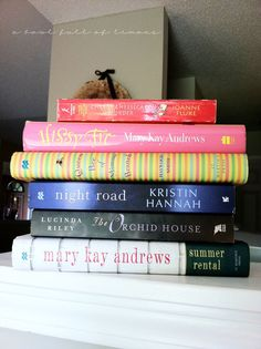 My summer reads...