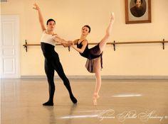 Kristina Shapran in a Pas de Deux Exam - Vaganova Ballet Academy