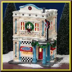 American Hero Comics Snow Village