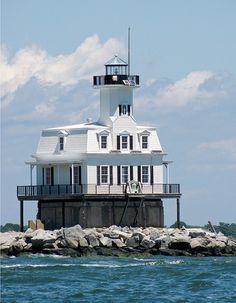 Long Beach Bar Lighthouse             Long Beach Point, NY