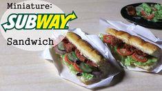 Subway Sandwich Miniature - Polymer Clay Tutorial