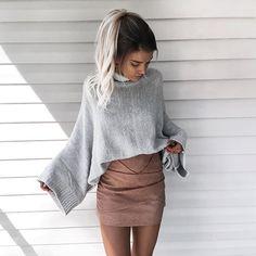 Turtleneckin  | Sweater from @bareanthology
