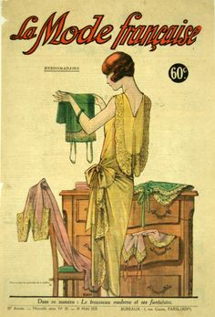 whisters: 1929 Issue of The French Fashion Weekly. What to...
