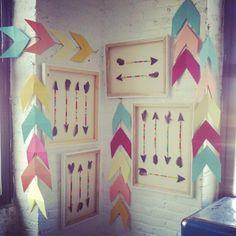 arrow garlands by glitter & rye.