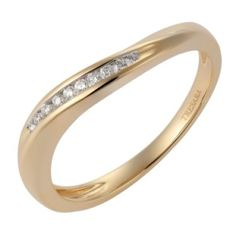 Diamond Band in Yellow Gold - A diagonal of channel set diamonds accent this stunning yellow gold ring. by GemLN Jewelers Gold Band Ring, Band Rings, Diamond Bands, Diamond Jewelry, Yellow Gold Rings, Rose Gold, Leaf Ring, Aquamarine Rings, Women Jewelry
