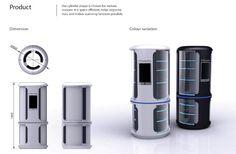 Des concepts pour te simplifier la vie : le réfrigérateur