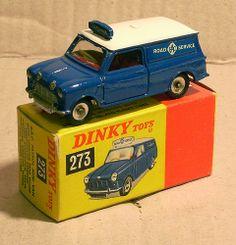 Dinky 273 RAC Minivan