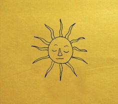 #yellow #sun #aesthetic