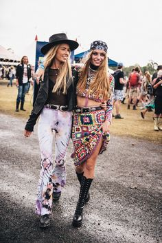 Festival | Inspiration | Coachella | Friends | More on Fashionchick.nl