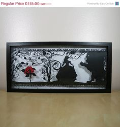 FEBRUARY SALE The Beauty of a Beast Papercut