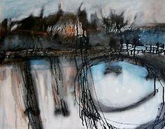 art journal - expression through abstraction Colors And Emotions, Muted Colors, Landscape Art, Kara, Original Artwork, Contemporary Art, Art Pieces, Abstract Art, Fine Art