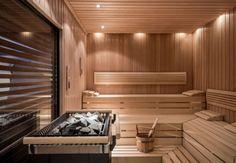 Finnish sauna in Munich spa