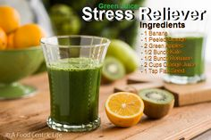 The best advice for reducing stress using nutrition is the GREEN SMOOTHIE! Green Smoothies will boost success in building resistance to stress . You must have a healthy body in order to boost your resistance to stress.