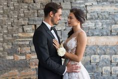 Romantic wedding at the Athens Riviera Wedding Moments, Athens, Real Weddings, Romantic, In This Moment, Couples, Wedding Dresses, Inspiration, Fashion