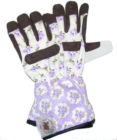 Vintage gardens gloves. Agathe model, vintage style. Stay chic while you gardening!