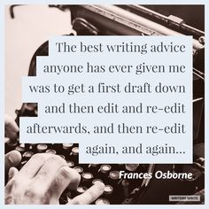 Quotable – Frances Osborne - Writers Write