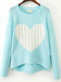 Blue Long Sweater 94
