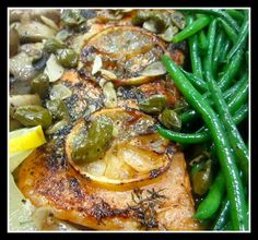 Salmon with Dill, Capers and White Wine « Purpose Driven Chef