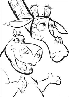 Madagascar Coloring Pages 39 Online Coloring Pages, Cartoon Coloring Pages, Disney Coloring Pages, Colouring Pages, Printable Coloring Pages, Coloring Pages For Kids, Coloring Books, Disney Kunst, Art Disney