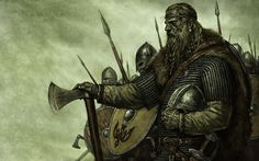 Mount & Blade. Vikings. Viking warrior. Barbarians and vikings. Viking character, viking art.