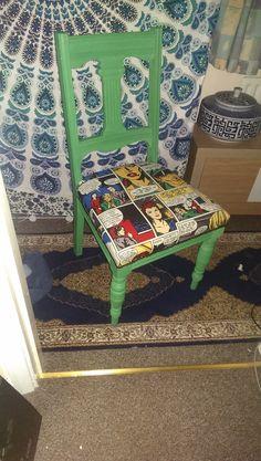 Pop art/Comic strip Chair