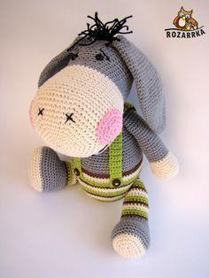 Amigurumi Donkey Making - Amigurumi Cactus Amigurumi, Mini Amigurumi, Amigurumi Animals, Amigurumi Doll, Crochet Animals, Crochet Motifs, Crochet Patterns Amigurumi, Crochet Dolls, Amigurumi Tutorial