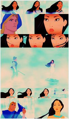 "Pocahontas - LOVE this scene. As good as a ""real"" film."