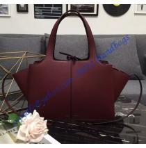 eeaa9421ff97 Celine Medium Tri-Fold Shoulder Bag in Wine Red Calfskin Дизайнерские Сумки,  Кожаные Сумки