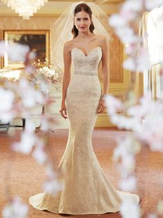 Style Y1108 (Daenerys) wedding dress • The amazing Sophia Tolli collection for spring 2014 is full of sparkling, sexy gowns