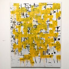 Christopher Wool at Helly Nahmad