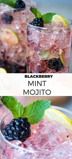 Blackberry Mint Mojito Cocktail - Cake Cooking Recipes