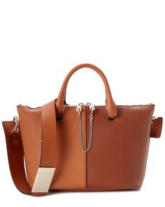 Spotted this Chloe Baylee Medium Bicolor Leather Satchel on Rue La La. Shop (quickly!).