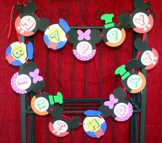 MICKEY MOUSE Clubhouse Decorations-Mickey Mouse Birthday Party  PDF. $24.99, via Etsy.