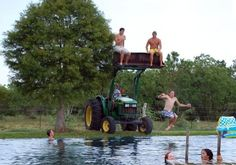 country diving board
