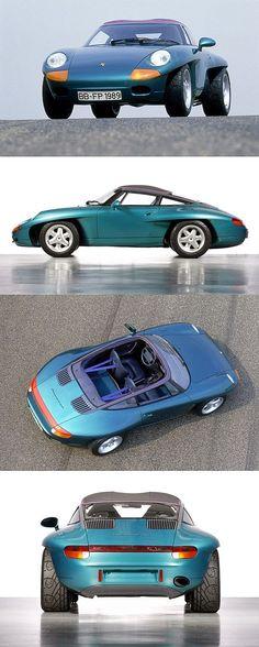 ✨ Porsche Panamericana, 1989 - 2 x gebaut, nie wieder gesehen