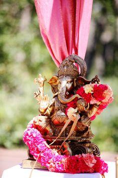 Westminster Colorado Hindu Wedding Jenna Walker Photographers The Celebration Studio Vibrant Boulder Blooms The Westin Ballroom Tee & Cakes Decor N' Shri Ganesh Images, Ganesha Pictures, Hindu Wedding Ceremony, Hindu Weddings, Indian Weddings, Ganpati Bappa Wallpapers, Lord Ganesha, Jai Ganesh, Baby Ganesha