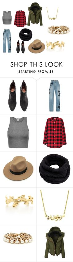 """Winter"" by ssbrina on Polyvore featuring moda, Jonathan Simkhai, H&M, Helmut Lang, Tiffany & Co. y LE3NO"