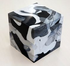 Mini-Cube, 13-6-3 | From a unique collection of abstract sculptures at https://www.1stdibs.com/art/sculptures/abstract-sculptures/