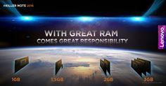 Novedad: El Lenovo K4 Note contará con 3 o incluso 4 GB de RAM