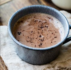 Healthy hot chocolate – is that even possible? Ditch that powdered stuff andgive this a try. It's incredibly easy to make in the blender. Plus did we mentionthat it's super chocolatey? Well it is, and we give it a big thumbs up. Get Let's Eat right here! You'll get a month-long meal plan, plant-powered recipes …