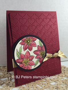 Check out the shimmer on this card - it's soooo easy! Stamps from Stampin' Up!'s Paper Pumpkin October 2015 http://www.stampinbj.com/2015/10/dazzling-details-with-paper-pumpkin.html