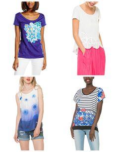 Modepol: Desigual Shirts für Damen Kollektion Sommer 2016