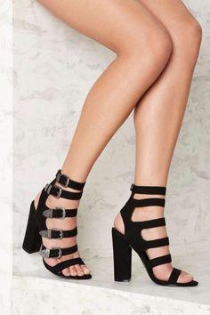 Nasty Gal Full Exposure Suede Heel - Shoes   Heels   Festival Shop   Best Sellers