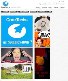 Le site Core techs. Retrouvez toutes les informations relatives à notre activité. Adresse : core-techs.fr