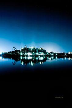 北九州工場夜景 戸畑区