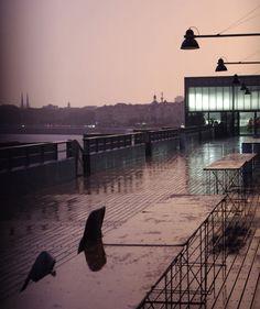 Pluie sur le port de la lune Bordeaux Cyrille Cayeux Photography
