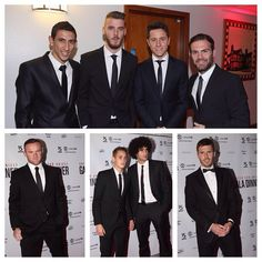#MUFC stars attend a gala dinner to celebrate a 15-year partnership between the Manchester United Foundation and Unicef UK. 4.11.2014.